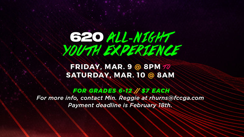 620 All-Night Youth Experience