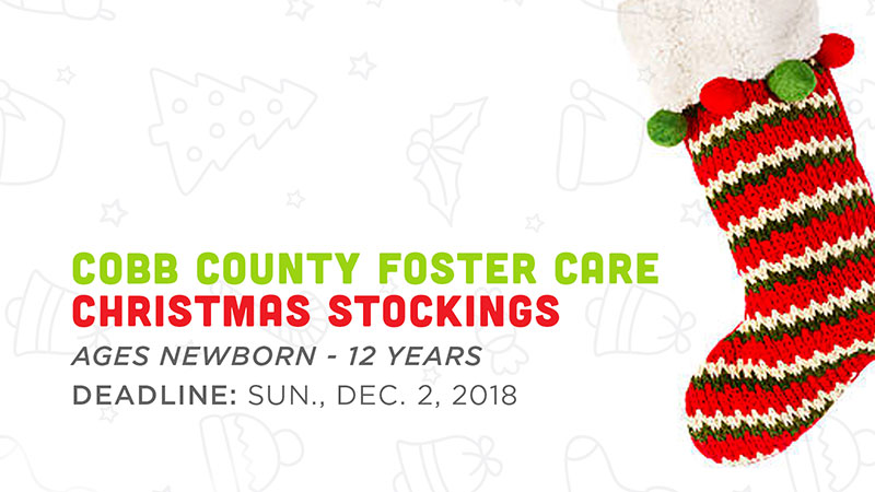 Cobb County Foster Care Christmas Stockings