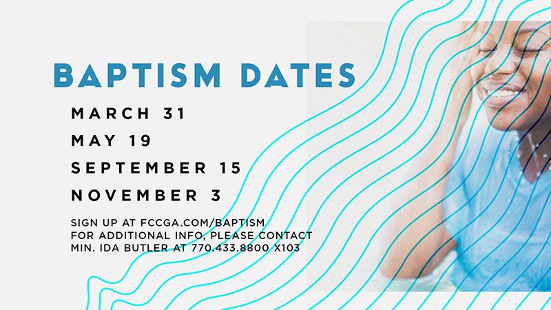 Baptism Dates