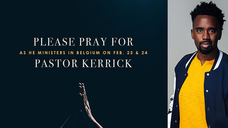 Pray for Pastor Kerrick