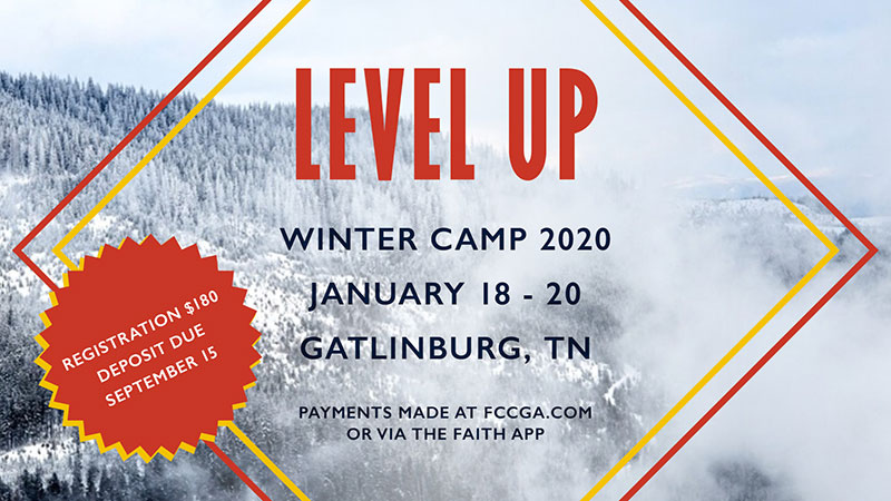 Level Up - Youth Winter Camp 2020