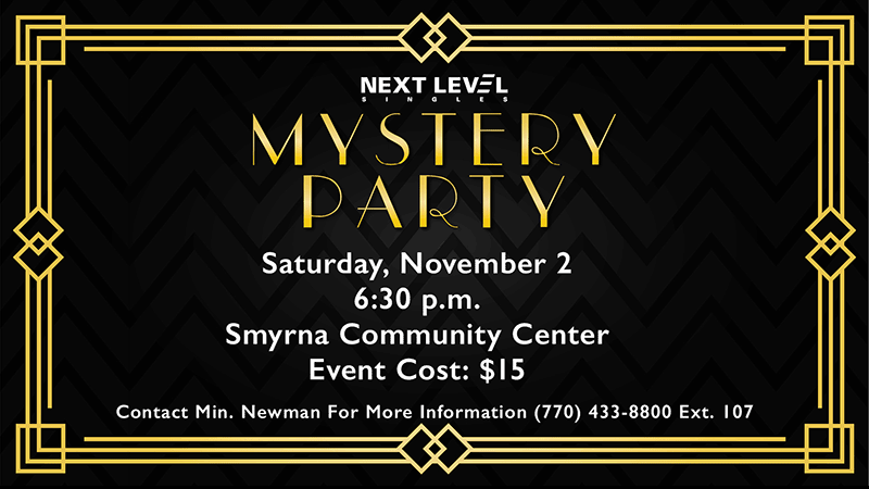 Next Level Singles Mystery Party