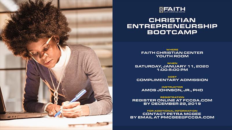 Christian Entrepreneurship Bootcamp