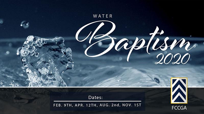 Water Baptism 2020