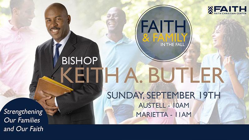 Bishop Keith A. Butler