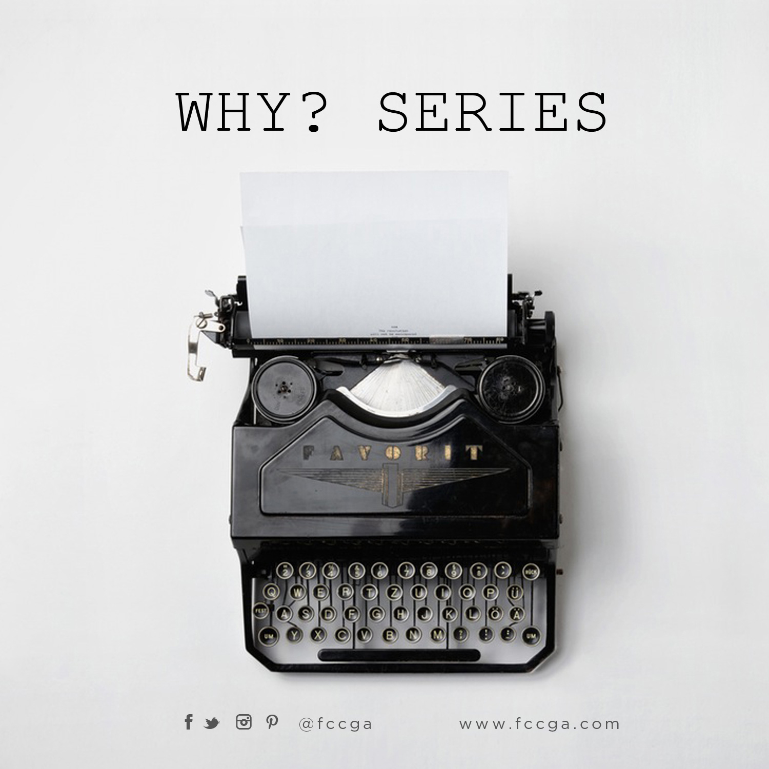 Why?, Question and Answer Session