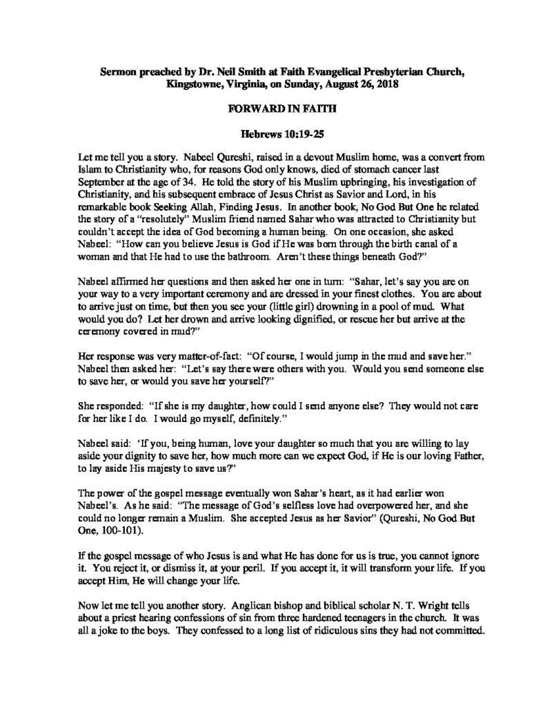 Forward-In-Faith pdf - Faith EPC