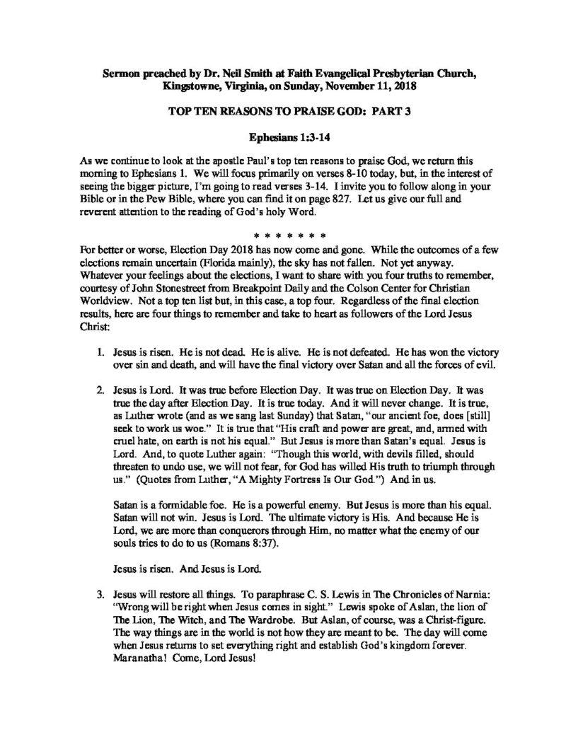 Top-Ten-Reasons-To-Praise-God-Part-3 pdf - Faith EPC