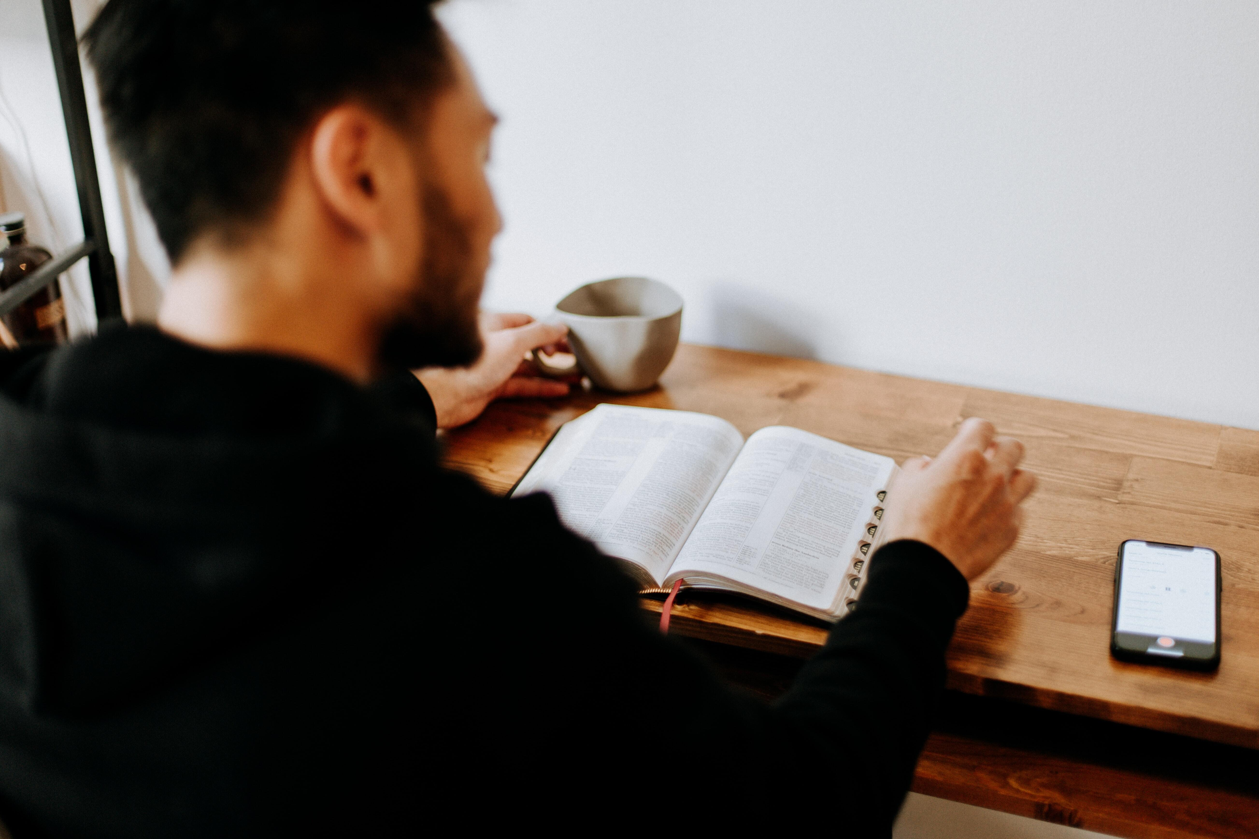 A Man of Faith's Delight - the Word of God (Men Only)