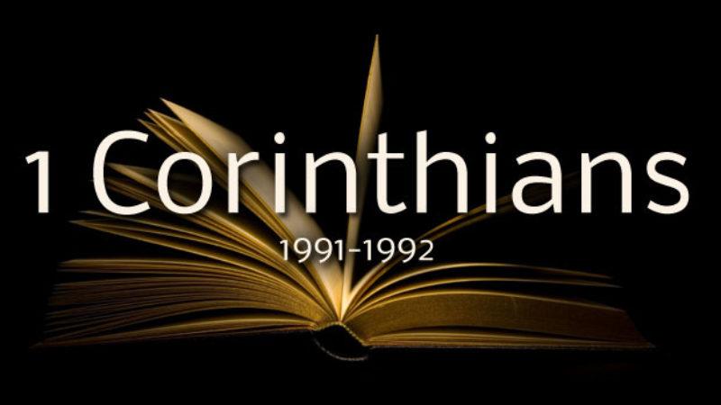 1 Corinthians (1991-1992)