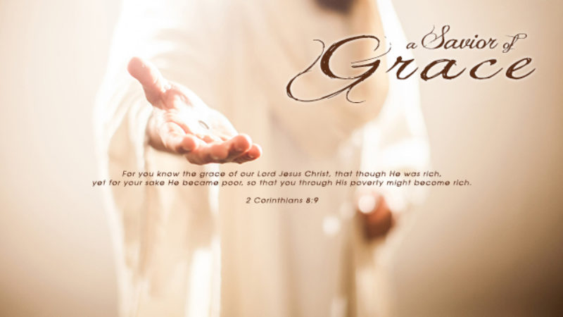 A Savior of Grace
