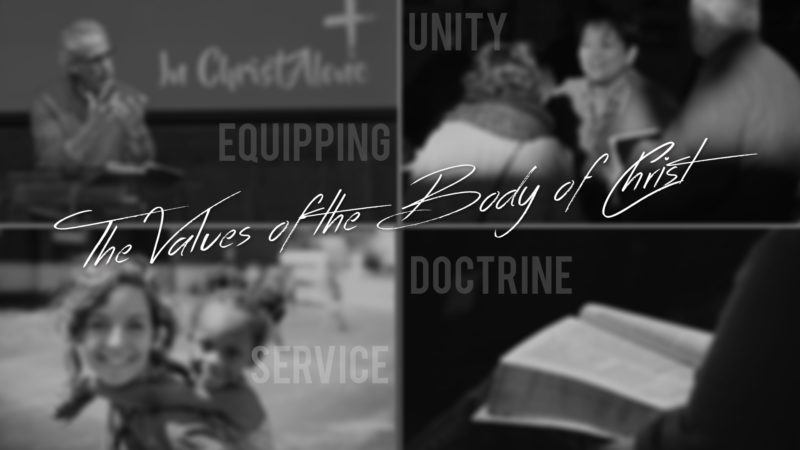 The Values of the Body of Christ
