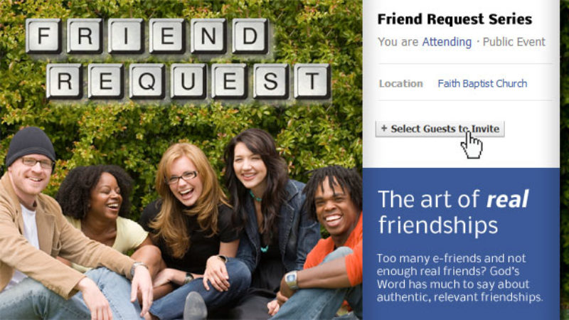 Friend Request: The Art of Real Friendships