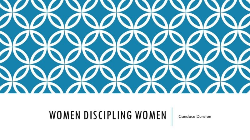 Women Discipling Women