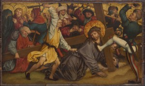 """Christ Carrying the Cross"" by Hans Maier, c. 1515"