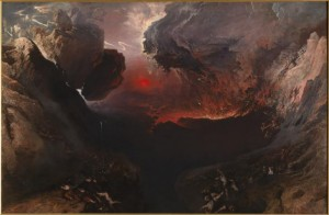 """The Great Day of His Wrath"" by John Martin, c. 1852 (Tate Britain)"