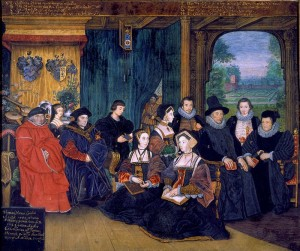 Sir Thomas More and Descendants by Rowland Lockey, c. 1594 [Victoria & Albert Museum]