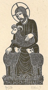 The Good Shepherd by Eric Gill, 1926