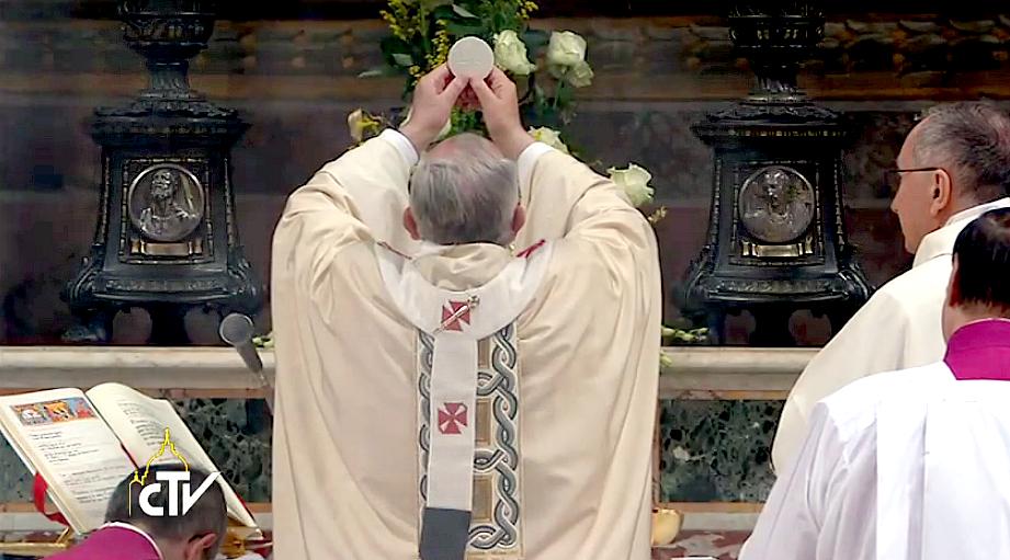 Pope Francis: ad orientem