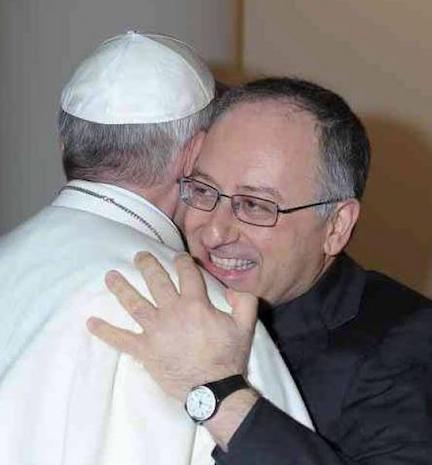 Antonio Spadaro, S.J. and friend