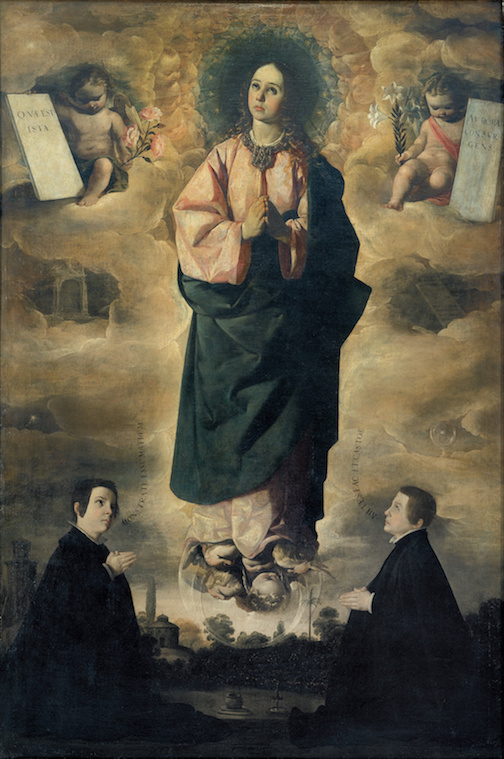Immaculate Conception by Francisco de Zurbarán, 1632 [National Art Museum of Catalonia]