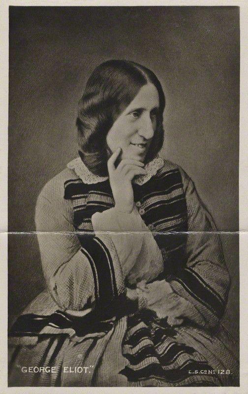 George Eliot, London Stereoscopic & Photographic Company,1858
