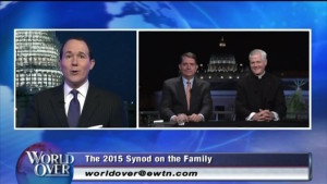 "Tonight: Fr. Murray and Robert Royal will join Raymond Arroyo on ""The World Over"" live on EWTN"