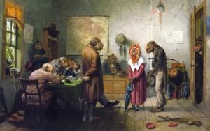 """Divorce"" by William Holbrook Beard, c. 1880"