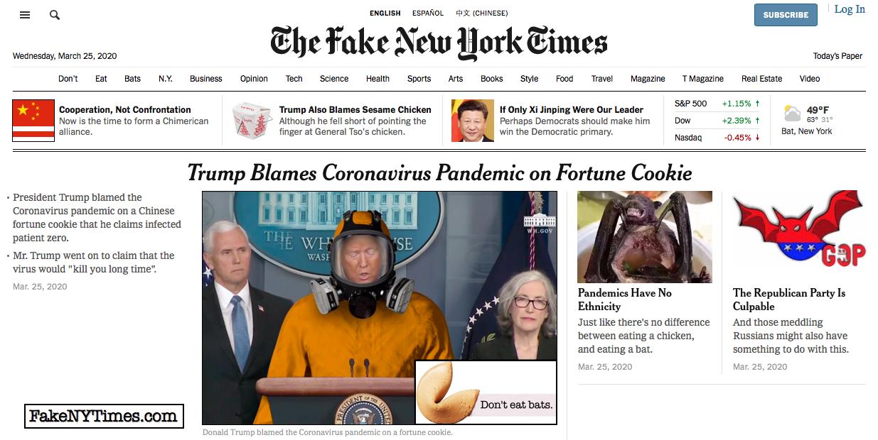 Fake New York Times 91