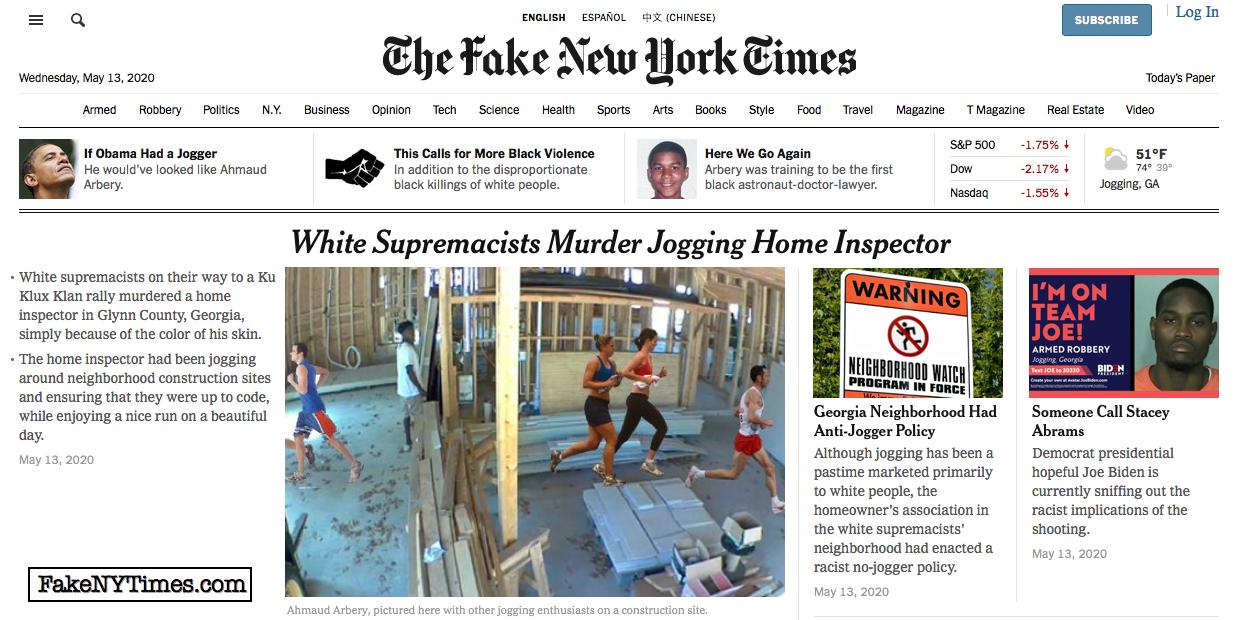 Fake New York Times 98