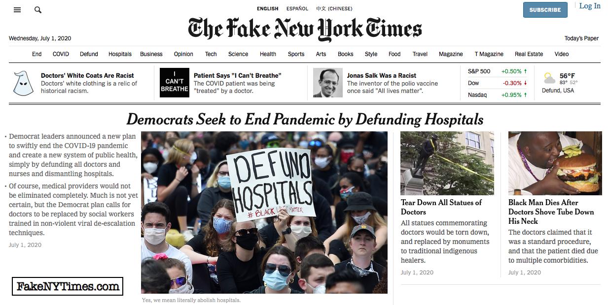 Fake New York Times 105