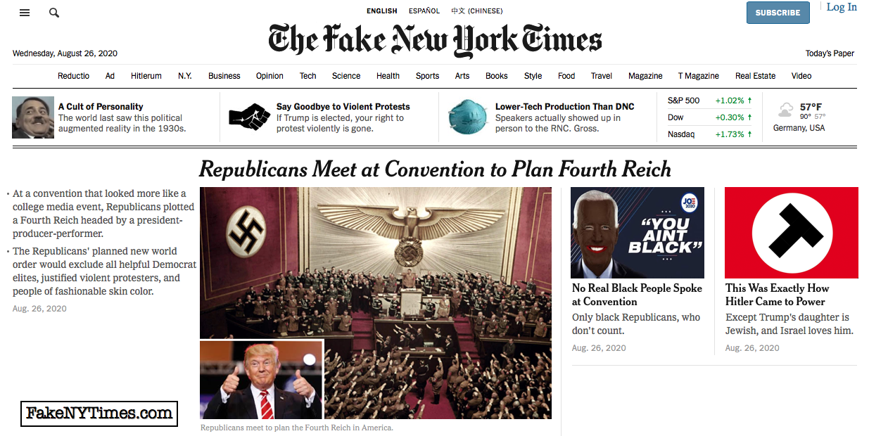 Fake New York Times 113