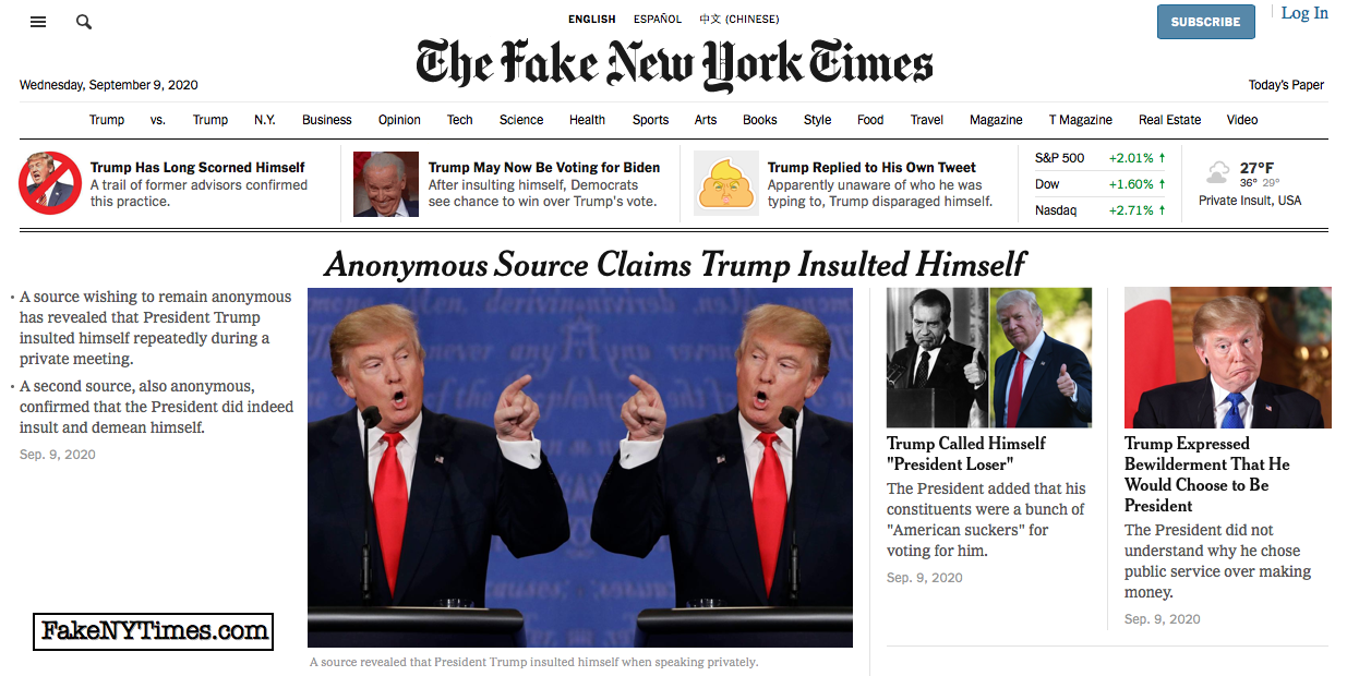 Fake New York Times 115