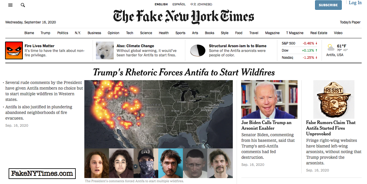 Fake New York Times 116