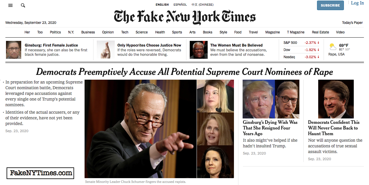 Fake New York Times 117