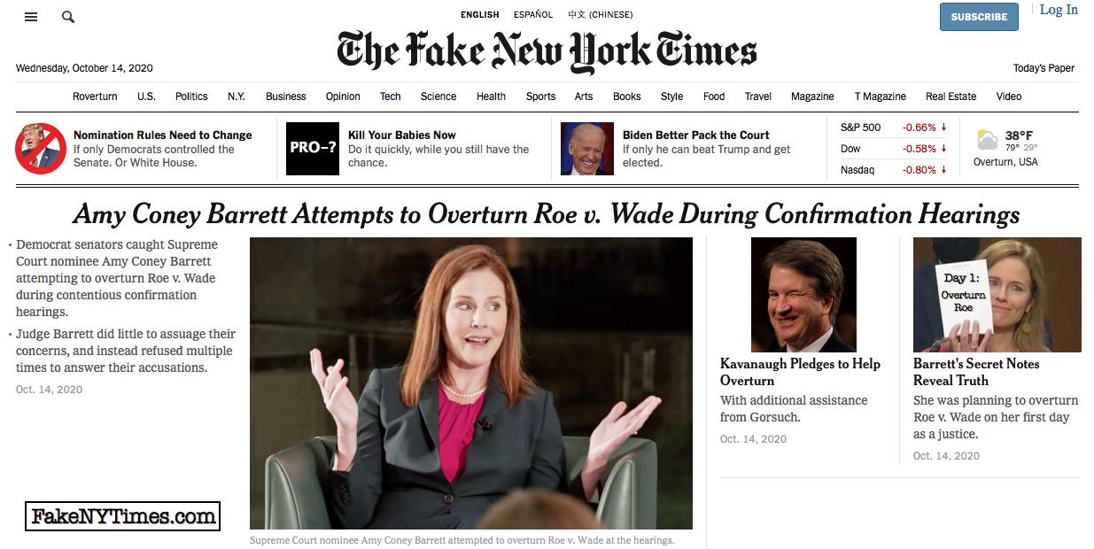 Fake New York Times 120