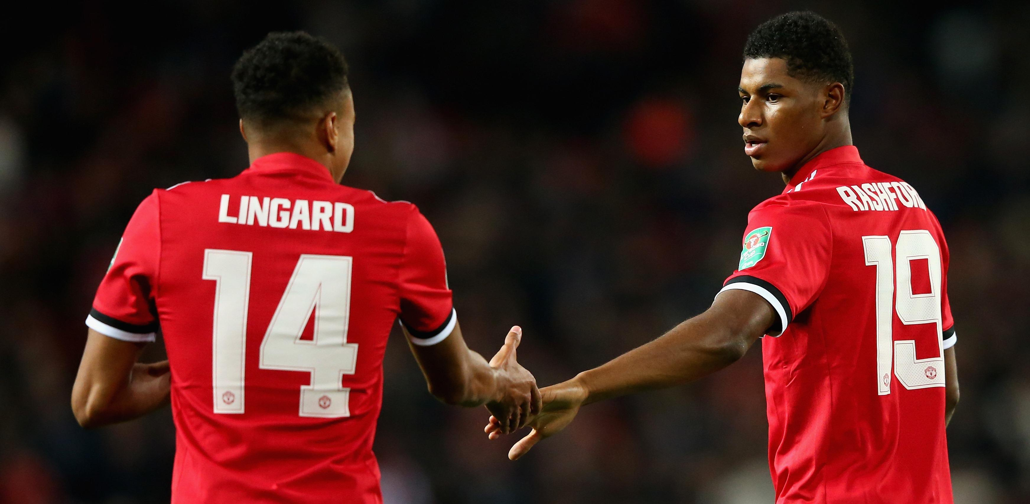 Lingard's big expectations of Rashford