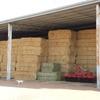 oaten hay in shed