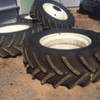 Duals and spacer kit to fit New Holland or CaseIH headers 620/70 R42