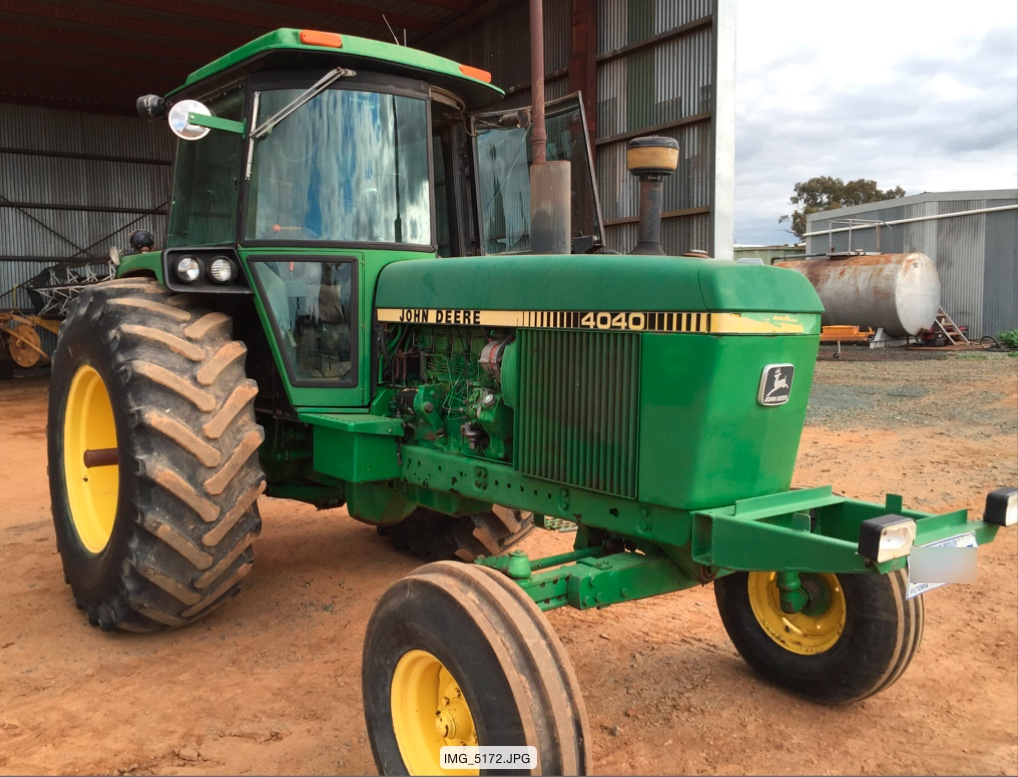 John Deere 4040 : John deere tractor for sale machinery equipment