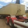 36' Triple Axle Steel 1988 White Tipper