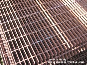 Walkway Mesh - Steel (Black) 2950mm x 1000mm Sheet Size