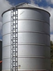 2 x Flat Bottom 2nd hand Silos in Flat packs