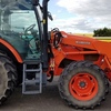 Kubota M100GX Tractor with Front End Loader