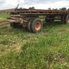 "Farm Hay Trailer 20'  ext 2"" Timber Floor, Sound tyres for farm use."