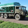 1966 6x6 Wheel Drive Army Blitz Truck with Vennings Maxi Fill Grouper with Belt Elevator For Sale