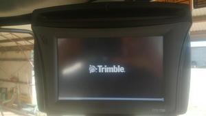Trimble CFX-750 and EZ-steer