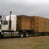 Hay & machinery transport