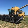 Cat Lexion 460R Header Harvester For Sale - Low Hours w Comb Trailer -  Harvest Ready!