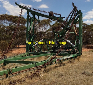 WANTED - 60' Prickle Chain, Double Fold, Light Frame (Not Kelly) Wilfred or the like, In good Working Condition.